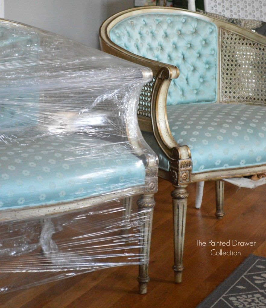 Favorite Find Monday French Barrel Cane Chairs
