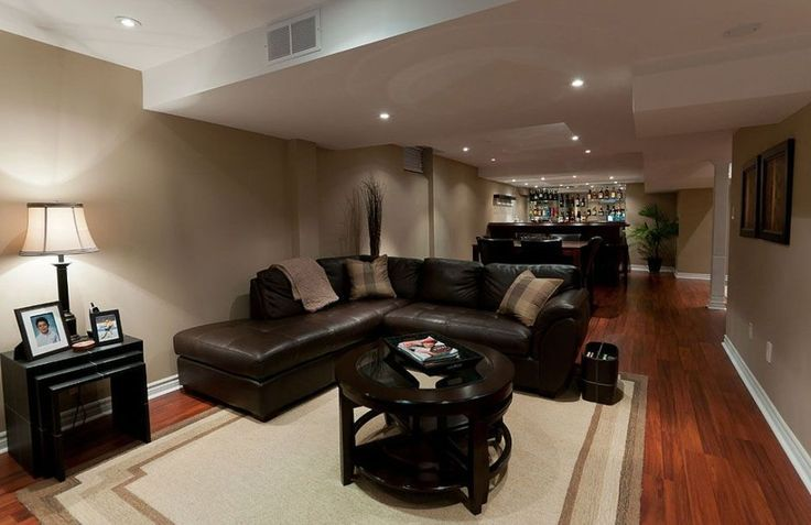 top 20 basement decorating idea for a small family room ideas how rh pinterest com