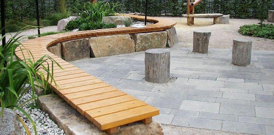 Bildergebnis Fur Terrasse Steinplatten Garten