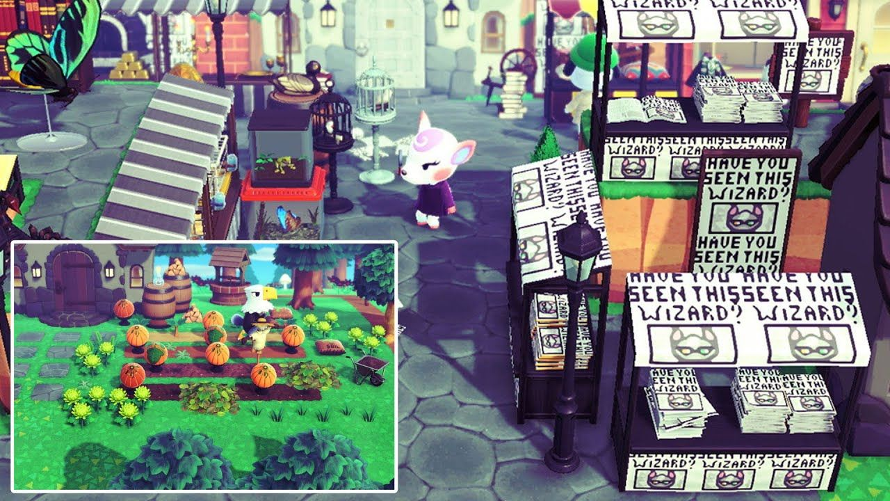 This 900 Hour Harry Potter Island Is Design Goals Animal Crossing New Animal Crossing Animal Crossing 3ds Animal Crossing Game
