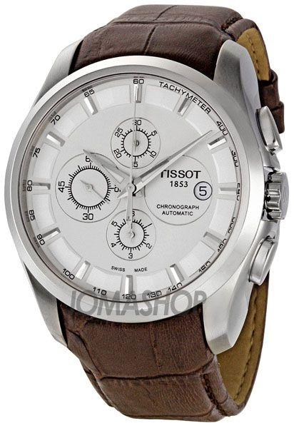 Мужские часы тиссот couturier automatic chronograph c01 211