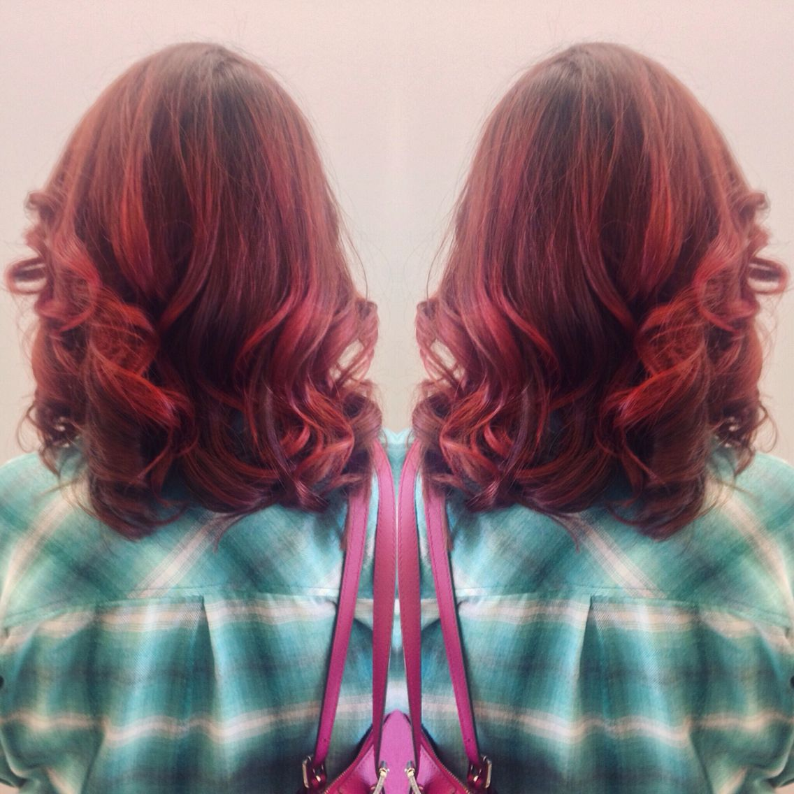 Red velvet cake hair my style pinterest hair velvet and red
