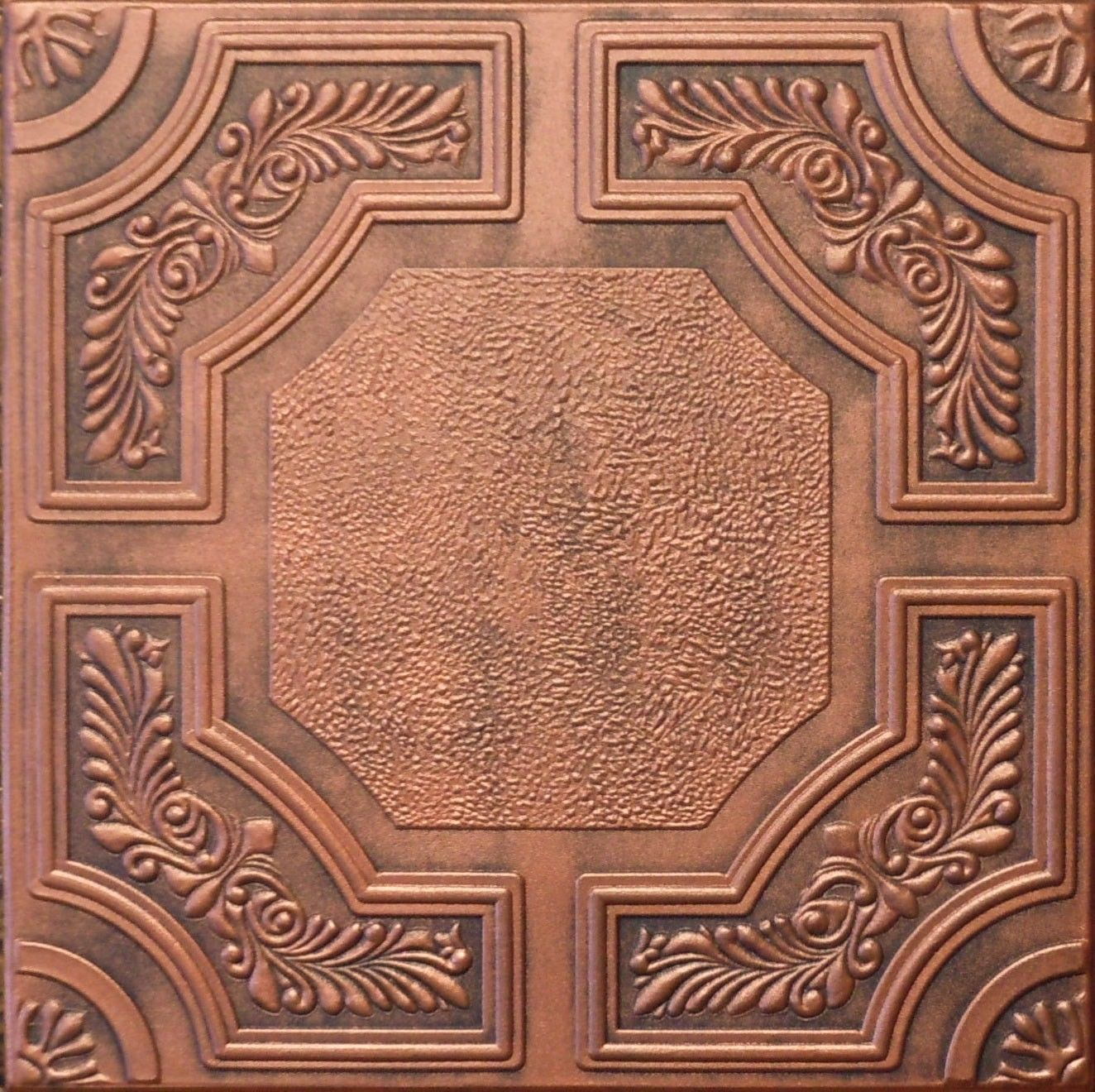 Tin look faux ceiling tiles 20x20 different colors ebay tin look faux ceiling tiles 20x20 different colors ebay doublecrazyfo Image collections