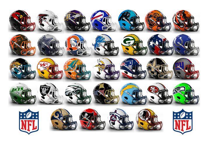 See Bold Alternate Helmet Designs For All 32 Nfl Teams Nfl