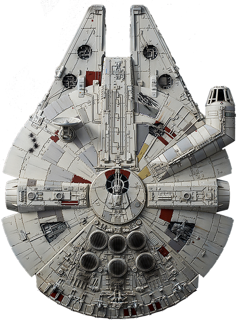 Millennium Falcon Rise Of Skywalker Version Model Kit By Bandai Sideshow Collectibles Star Wars Art Star Wars Spaceships Star Wars Poster