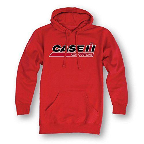 Case Ih Ag Logo International Harvester Agriculture Tractor Mens Hood Sweatshirt