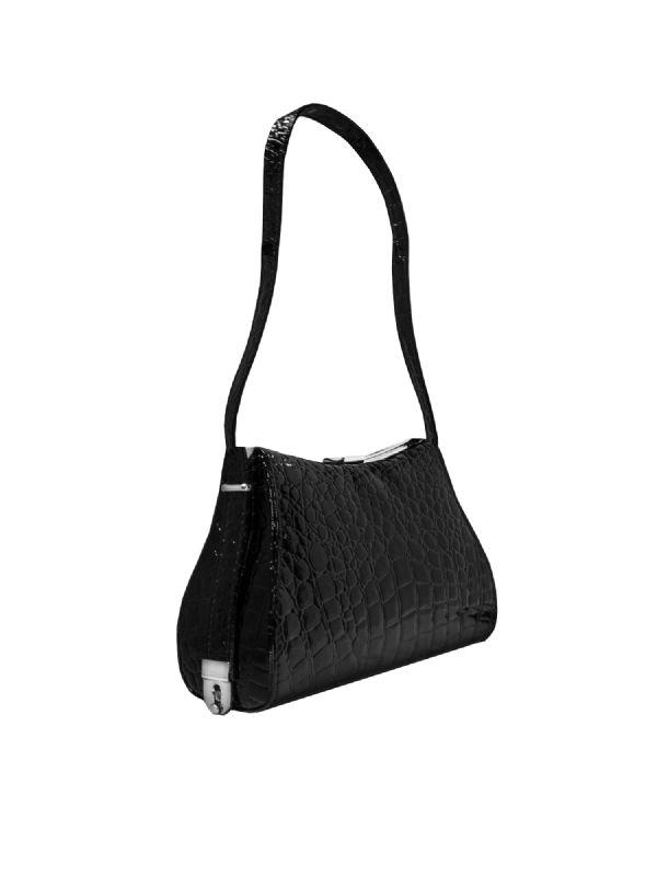 Heather Croc Bag 1