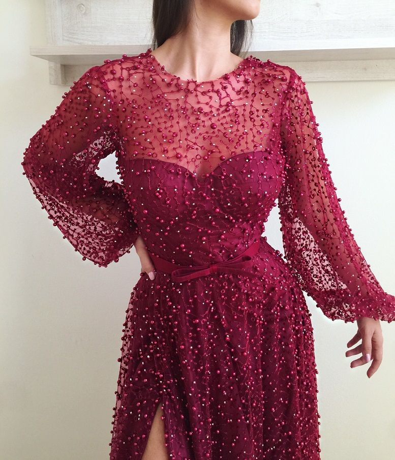 Stunning Party Dress by Teuta Matoshi Duriqi