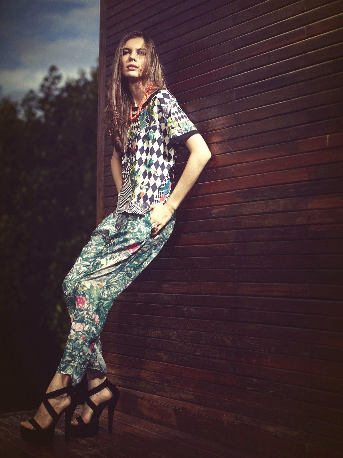 Kiana top & clover pants <3