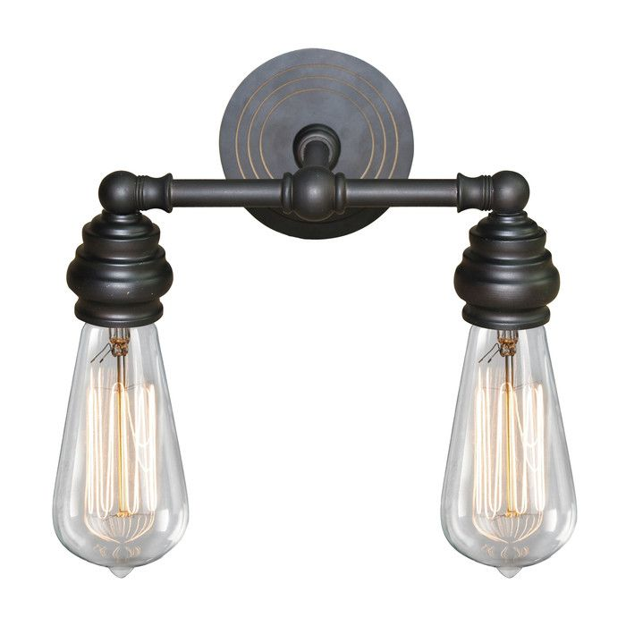 You'll love the Cessal 2 Light Vanity Light at Wayfair - Great Deals on all Lighting  products with Free Shipping on most stuff, even the big stuff.