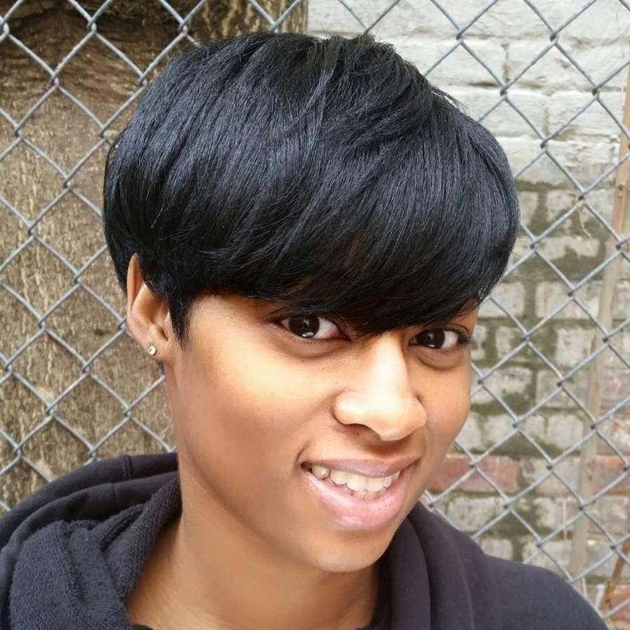 most captivating african american short hairstyles short black