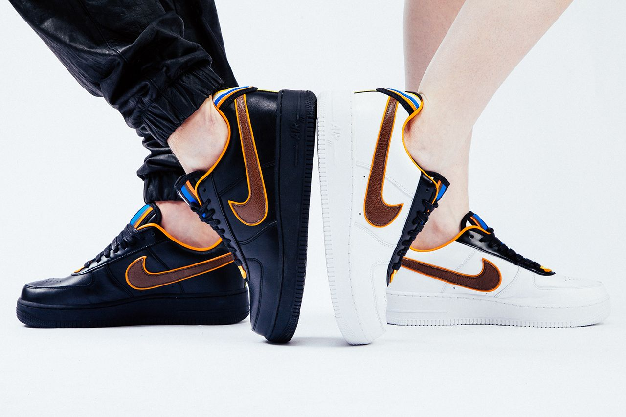 "NIKE + R.T. Air Force 1 – ""Laissez aller"" (Editorial"