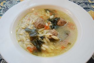 Italian Wedding Soup  The Daily Dish  166 mg of sodium per serving  Italian Wedding Soup  The Daily Dish  166 mg of sodium per serving