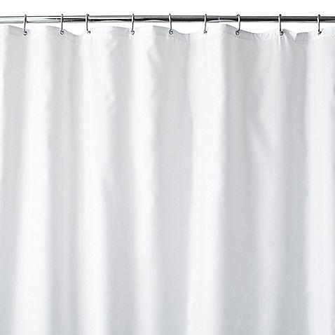Wamsutta 70 Inch X 84 Inch Extra Long Fabric Shower Curtain Liner