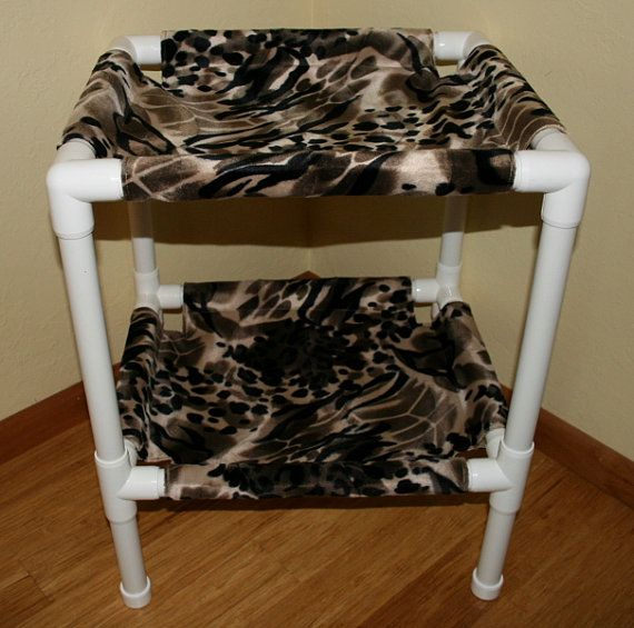 Animal Print Pet Bed, Choice of Color and Configuration on