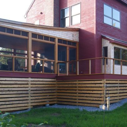 Deck Skirting Design Ideas Pictures Remodel And Decor