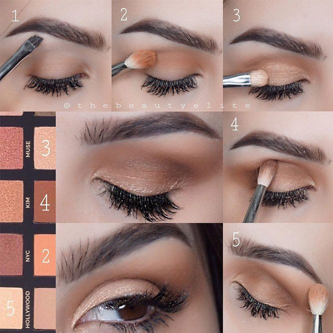 Eyeshadow For Brown Eyes Embrace Your Inner Makeup Artist Glaminati Com Eyeshadow For Brown Eyes Eye Makeup How To Apply Eyeshadow