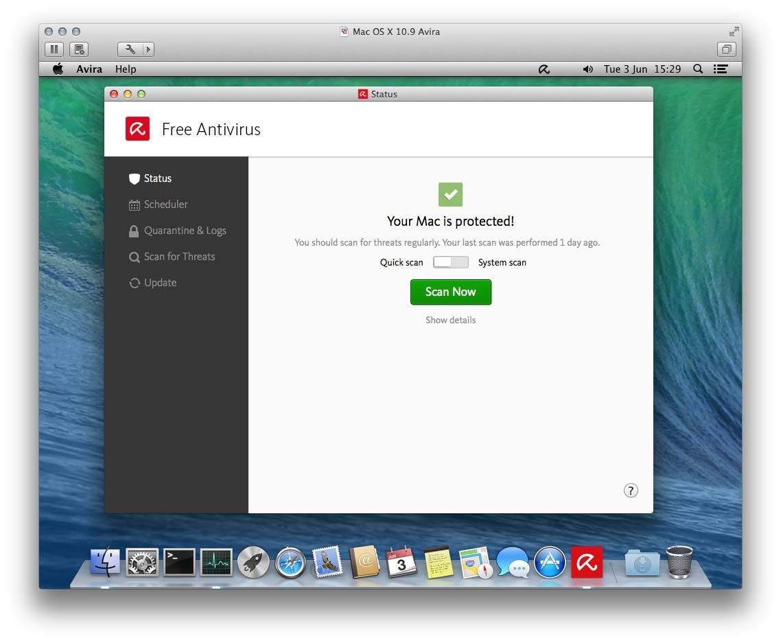 free antivirus for a mac