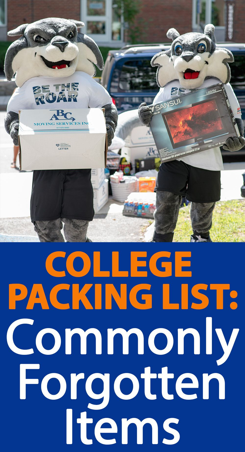 College Packing List: Commonly Forgotten Items #collegepackinglist