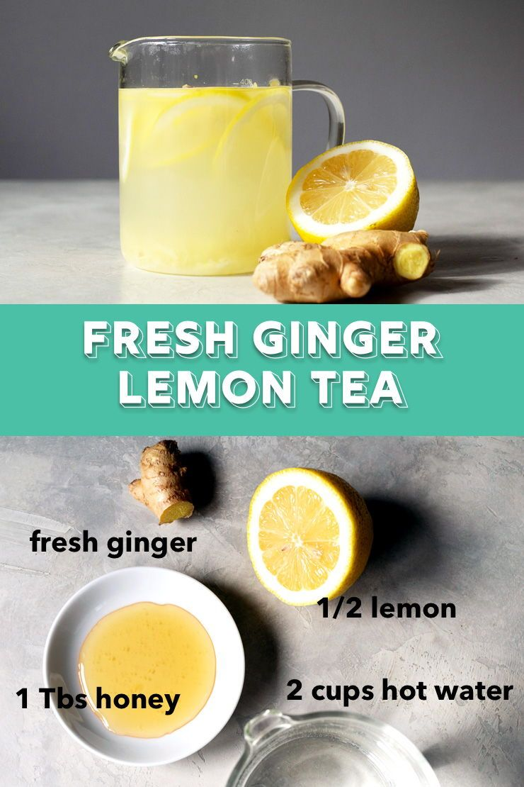 An Easy Way To Make Ginger Tea With Lemon And Honey To Warm Up During The Chillier Months Give Your Ginger Lemon Tea Ginger Tea Recipe Ginger Lemon Honey Tea