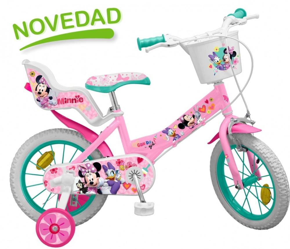 Bicicleta Pentru Copii Disney Minnie Mouse Bicicleta Minnie Asientos De Coche De Bebé Minnie Mouse