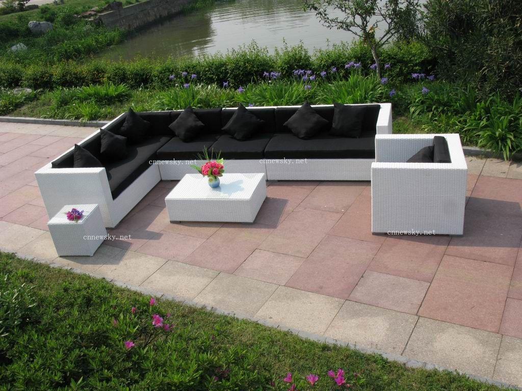Salon Jardin Palette Blanc: Le salon de jardin en palette bricolez ...