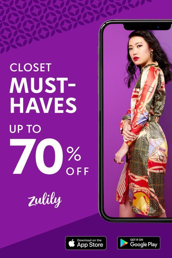 Love to shop? Download the Zulily app for a new store