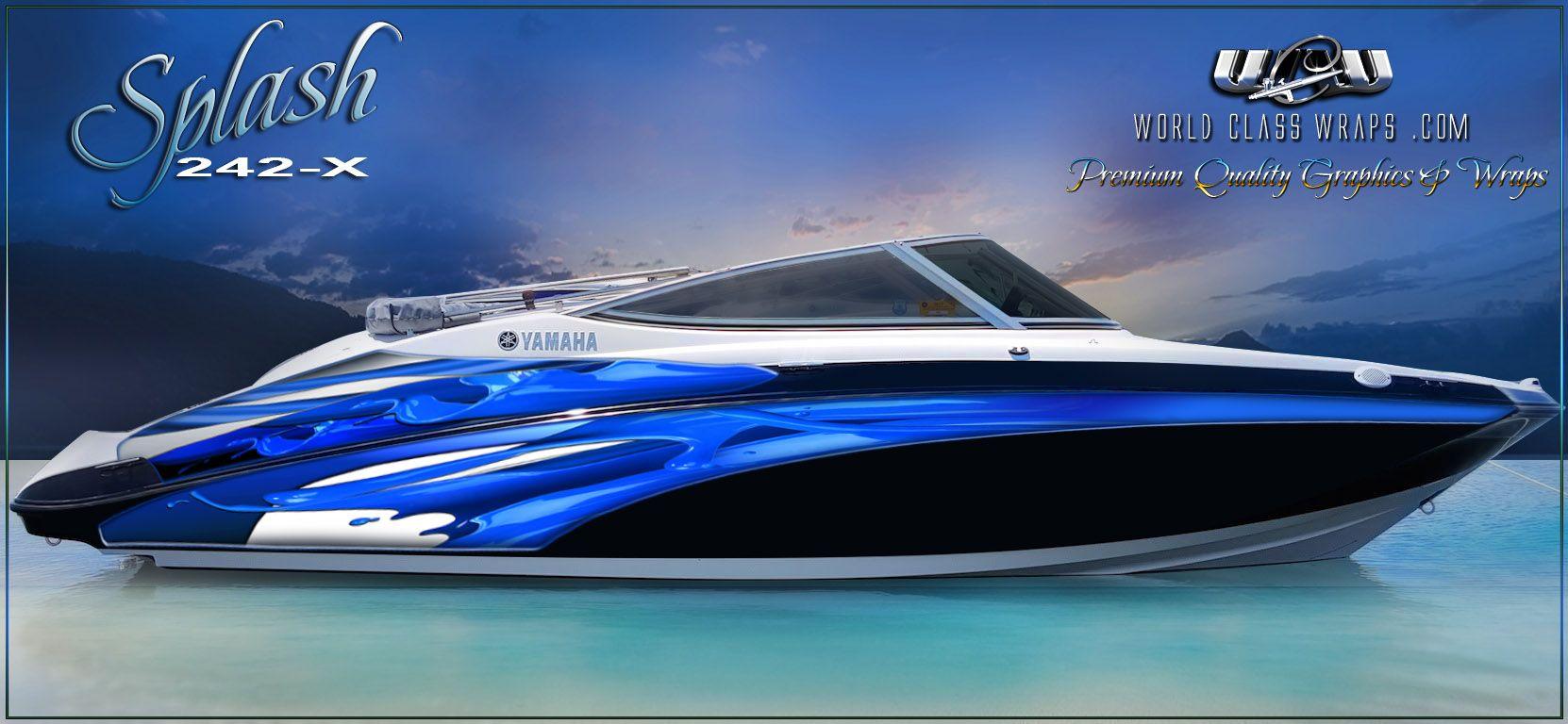 Image Result For Boat Graphics Wraps Boat Boat Wraps Pontoon Boat