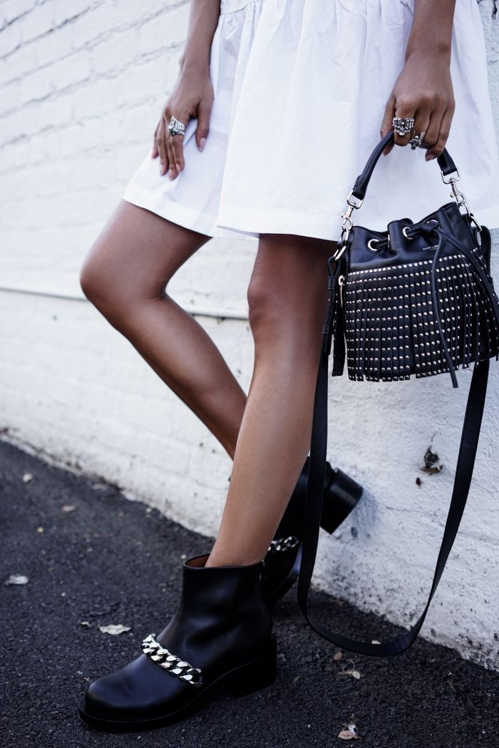 VivaLuxury - Fashion Blog by Annabelle Fleur: CHAINS & STUDS