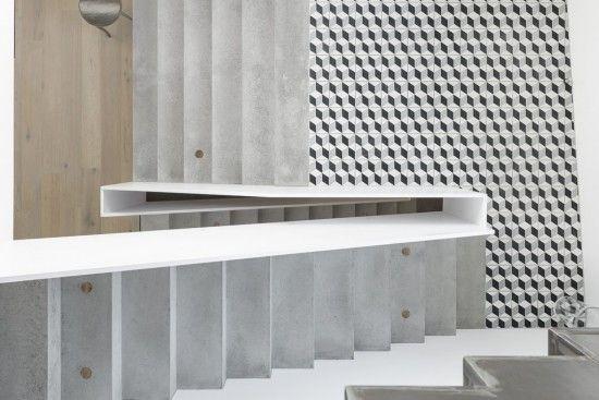 Realizacje Interior Cement Tile Wood Tile