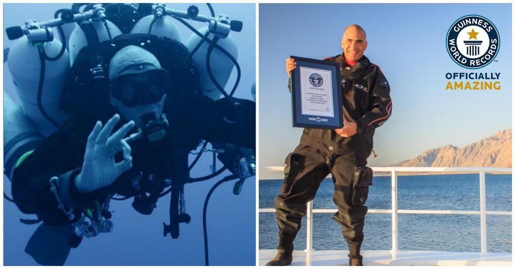 Open Water Premium MENS PERFORMANCE TRAINING COOL VEST Scuba Divers Dive Flag ..
