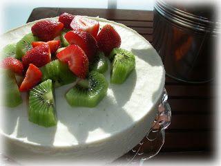 Caipirinha cheesecake