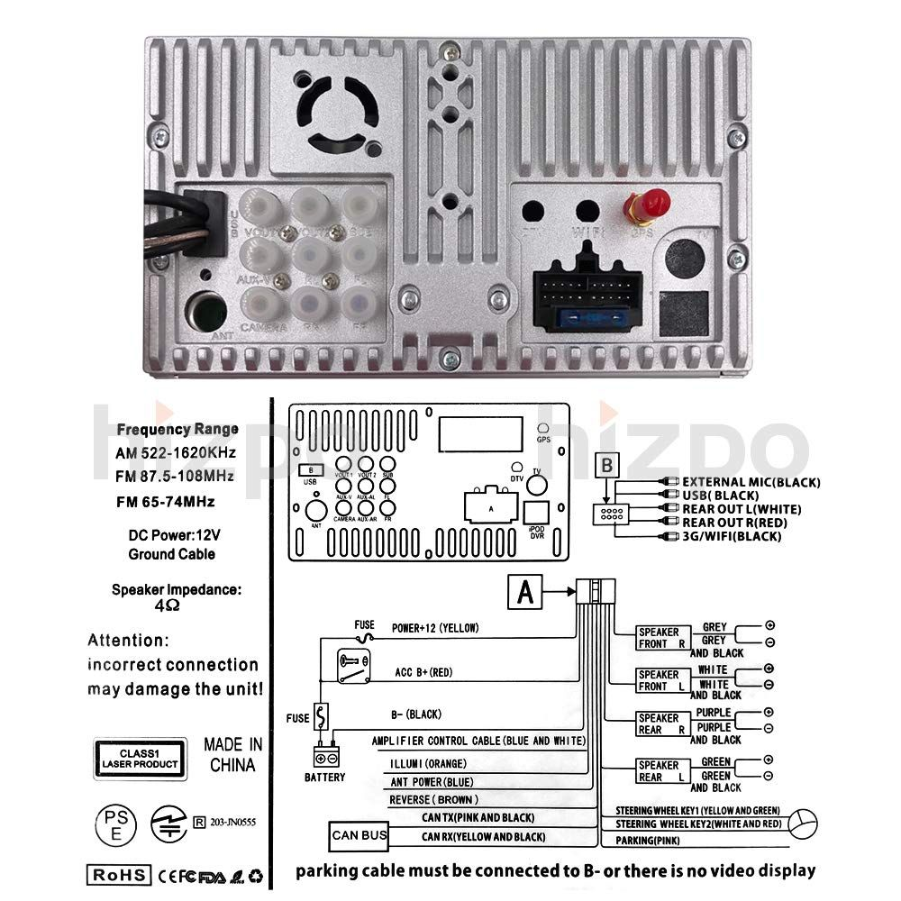 Toyota Rav4 Reverse Camera Wiring Diagram from i.pinimg.com