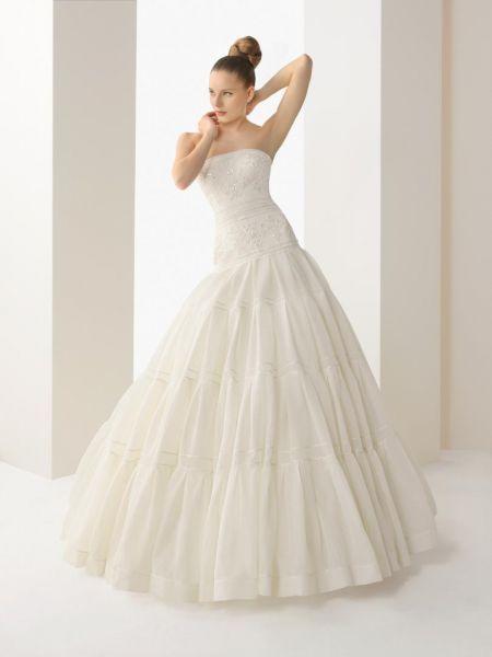 vestidos de novia rosa clara ¡30 opciones modernas!   bodas