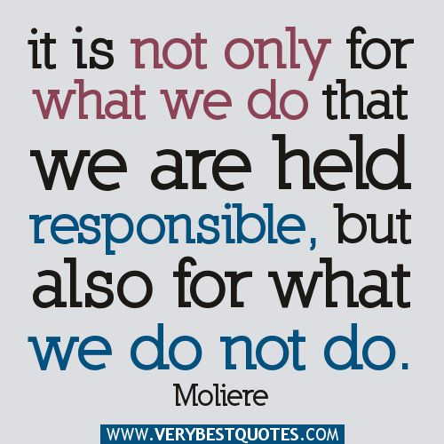 Quotes On Responsibility 1