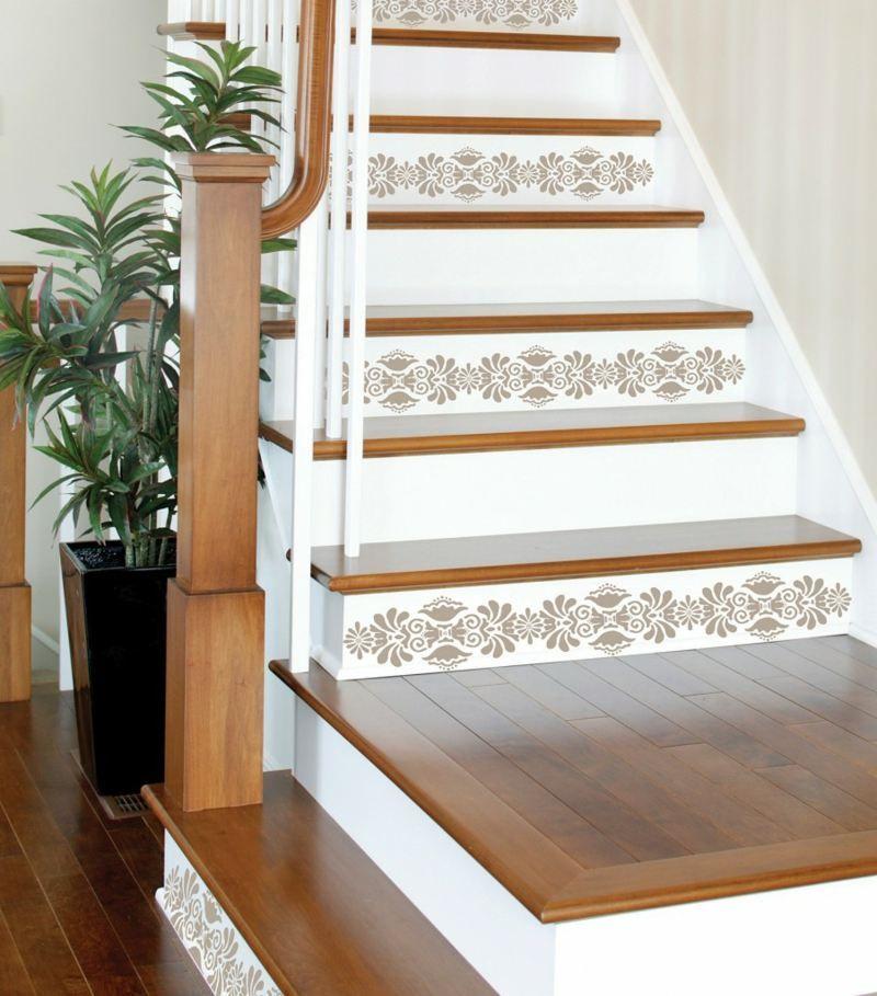 Gut gemocht Dekorieren Sie die Treppe mit hübschen Aufklebern | Haus in 2019 EN65