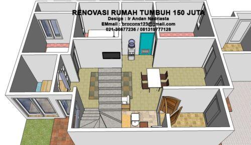 Desain Rumah Minimalis Budget 100 Juta Cek Bahan Bangunan