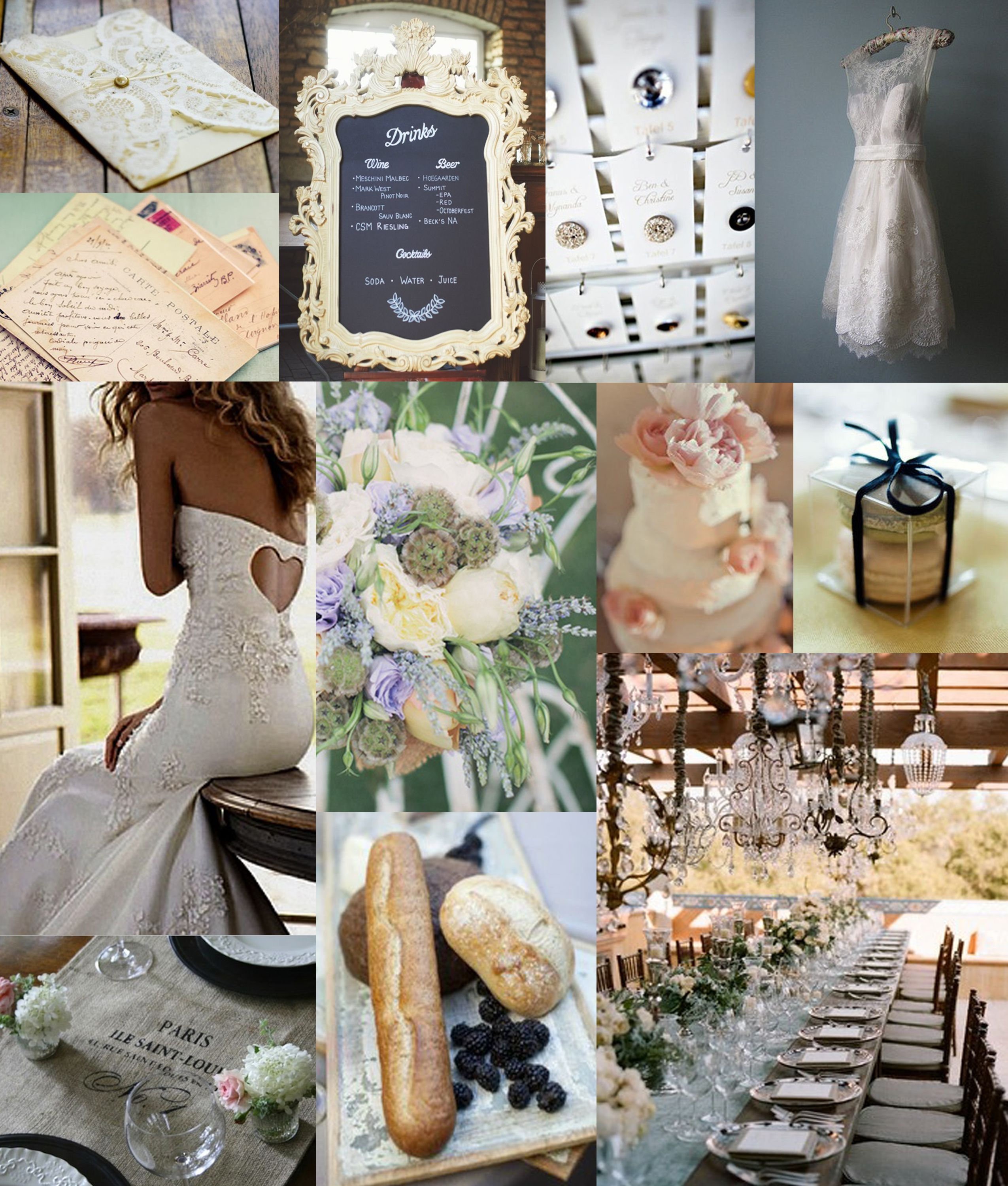 So Delicate And Tasteful French Themed Wedding French Country Wedding Wedding Inspiration