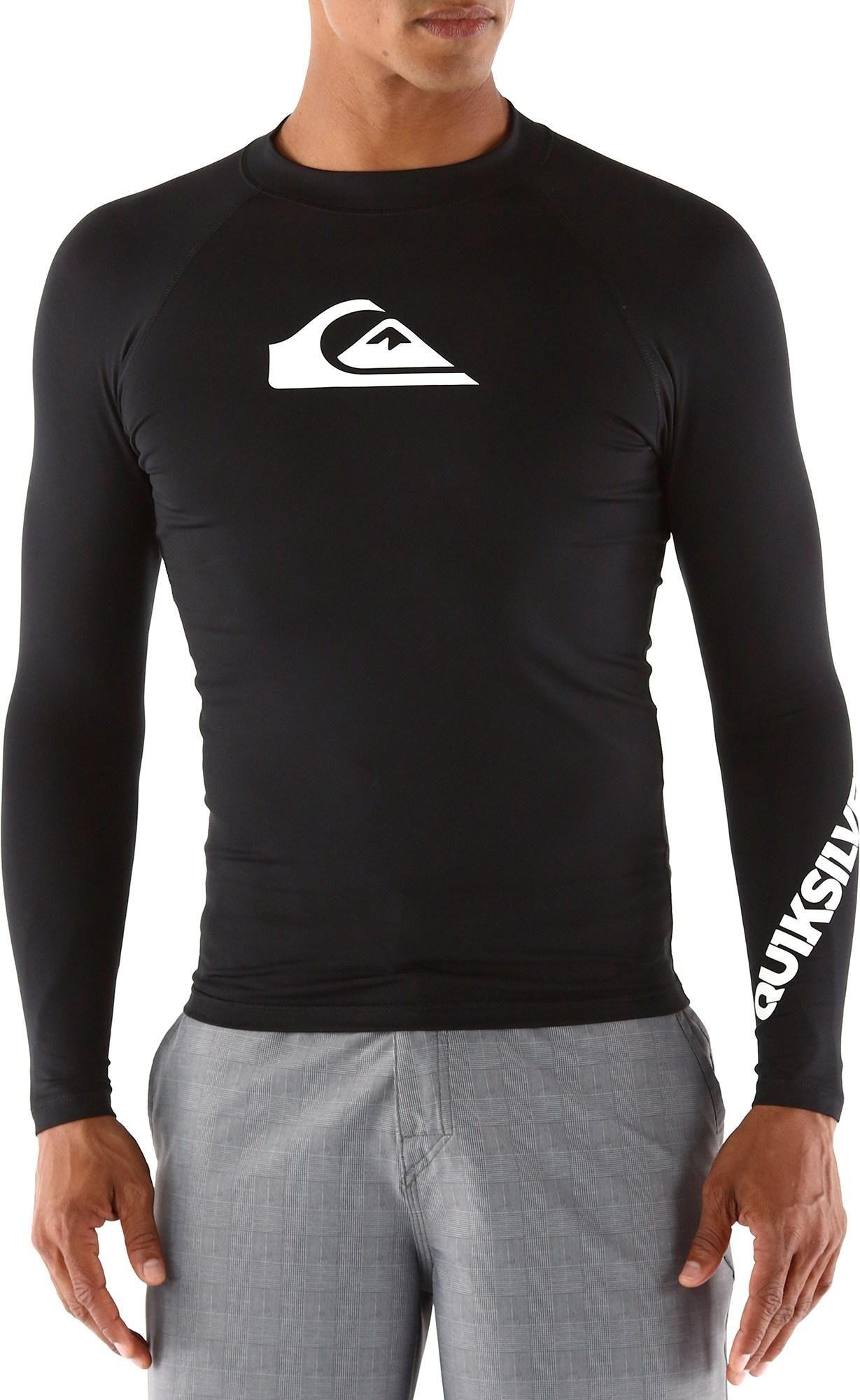 Quiksilver Mens Rash Guard Shirt