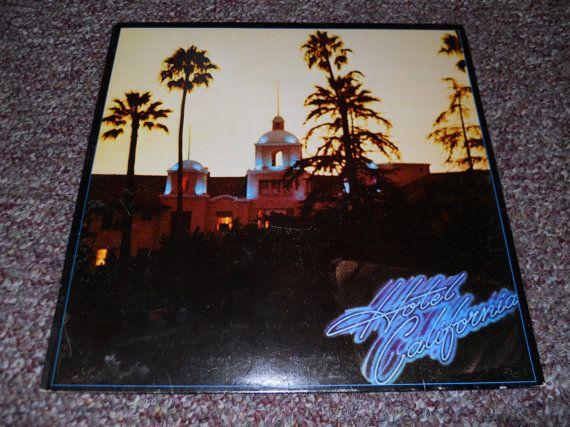 The Eagles Hotel California Vinyl Record Lp By Vinylrecordbarn