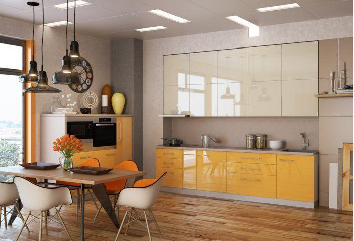 farbgestaltung küche einrichtungsideen kücheneinrichtung ideen
