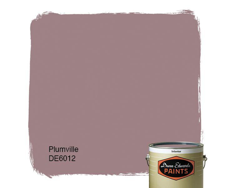 Dunn-Edwards Paints paint color: Plumville DE6012 | Click for a free color sample