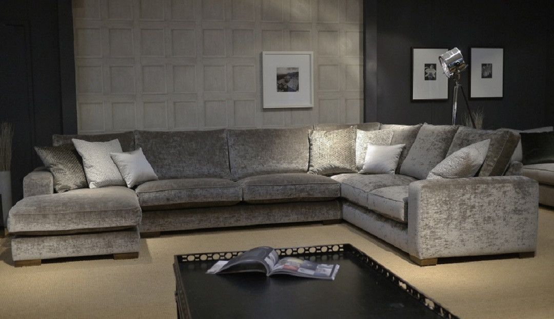 Ashdown U Shaped Sofa With Left Or Right Chaise Corner Sofa Living Room U Shaped Sofa Corner Sofa