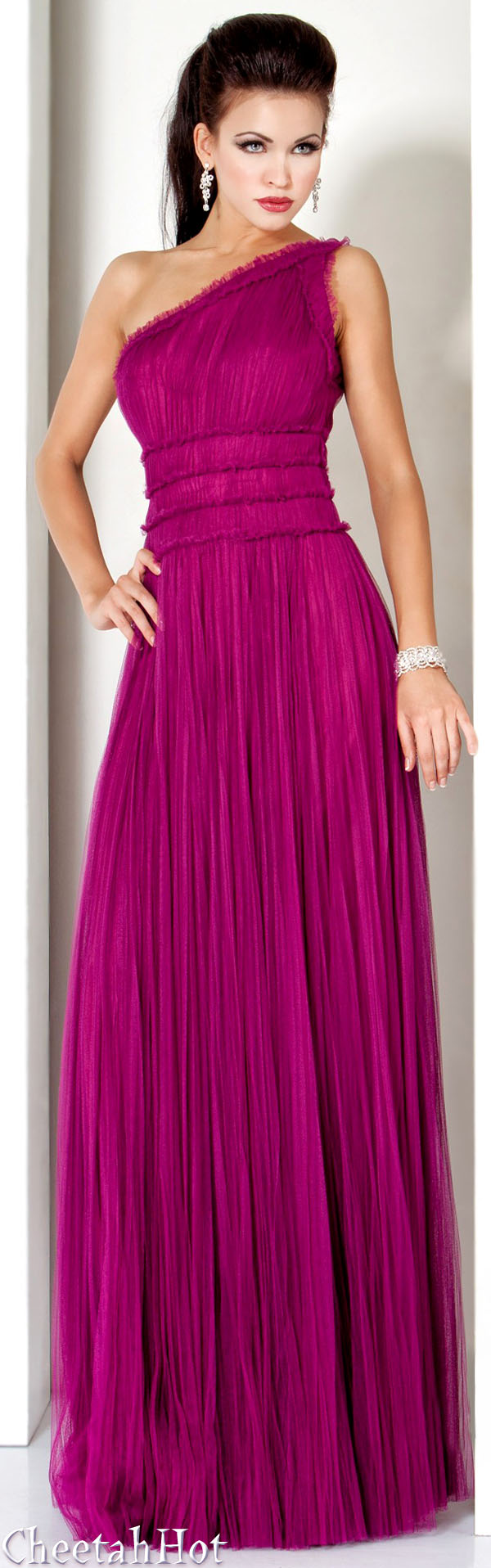 JOVANI - Authentic Designer Dress - Stunning Rasberry Gown | love ...