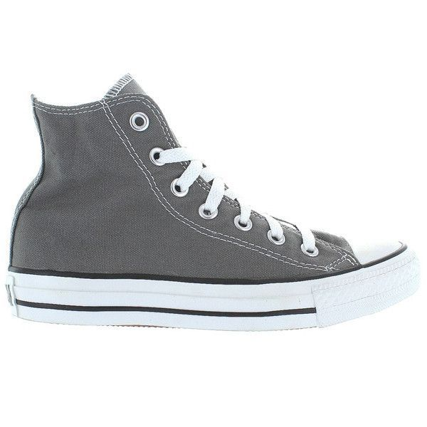 55eb8803ff911e Converse All Star Chuck Taylor High - Charcoal Canvas High-Top Sneaker