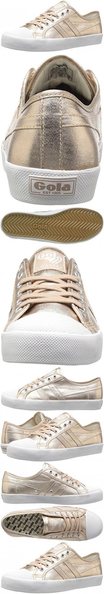 14916a43c0e7 Gola Women s Coaster Metallic Fashion Sneaker