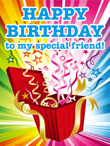 Surprise This Exciting Colorful Birthday Card Will Bring A