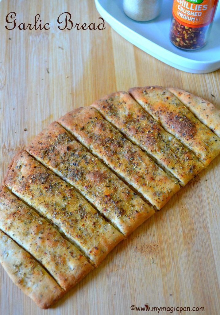 Garlic Bread Dominos Style My Magic Pan Things To Eat In 2019