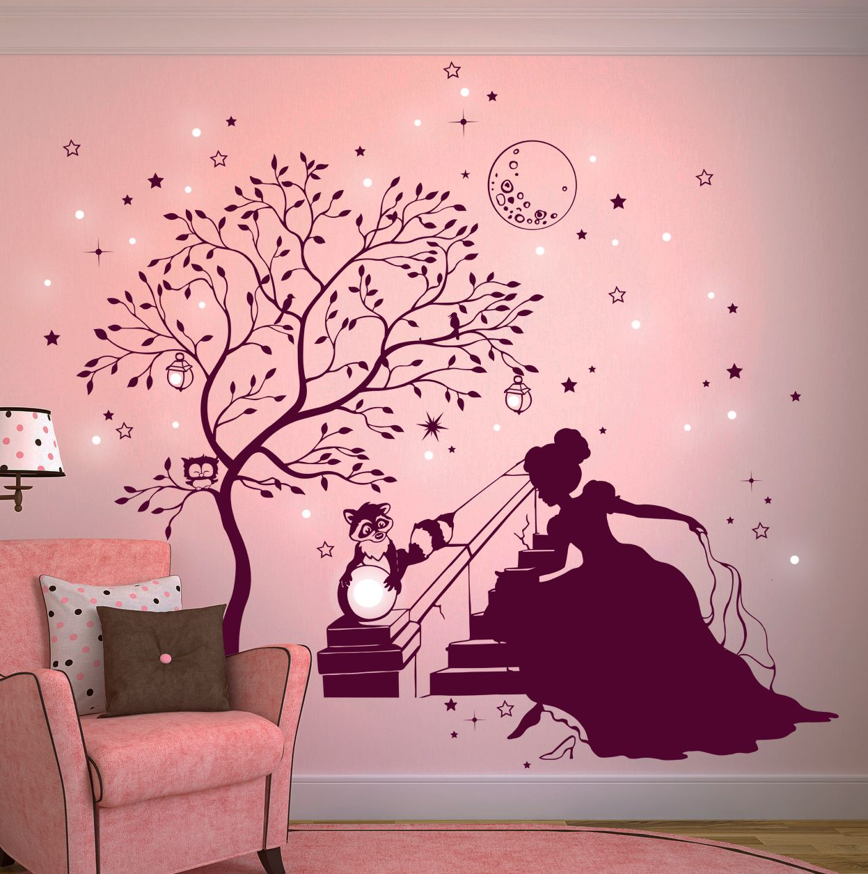 pin von deinewandkunst.de auf wandtattoo bäume | pinterest ... - Kinderzimmer Deko Dawanda