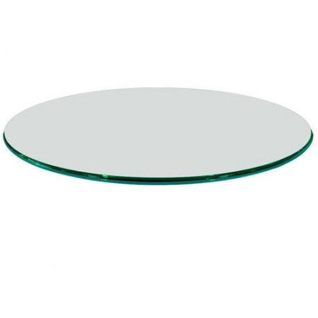 Home Round Glass Table Top Tempered Glass Table Top Glass Table